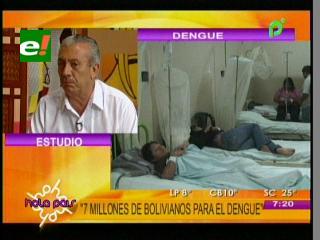 Gobernación de Santa Cruz dispone 7 millones de bolivianos para la lucha contra el dengue