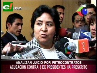 Comisión analiza juicios a tres ex presidentes por petrocontratos