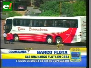 "Cae una ""narcoflota"" en Cochabamba"