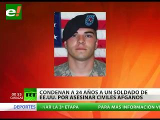 Un soldado estadounidense que mató a civiles afganos admite su culpa