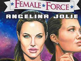 Angelina Jolie heroína de un cómic