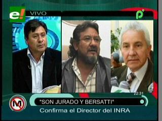 Juan Carlos Rojas: «Las tierras de los senadores del MAS no cumplían la FES, por eso se las revirtió»