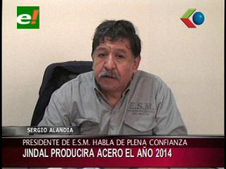 Jindall comenzará a producir acero a partir del año 2014