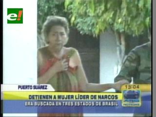FELCN detiene a mujer que estaba siendo buscada en Brasil por tráfico de cocaína
