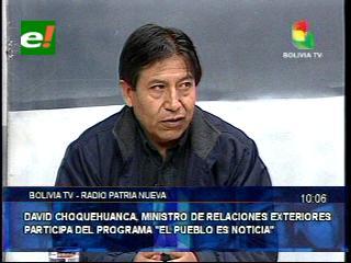 """""""El reclamo marítimo de Bolivia es un derecho irrenunciable que está en la Constitución"""""""