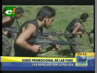 Policía colombiana incauta video promocional de las Farc