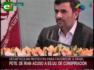 Irán acusa a Occidente de fomentar disturbios en el Medio Oriente para salvar a Israel