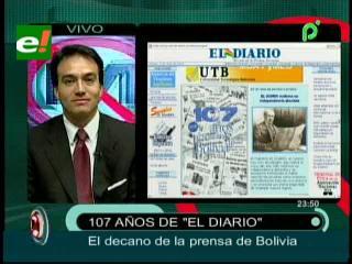 """""""El Diario"""" cumple 107 años"""