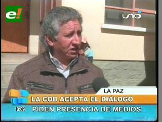 COD de Oruro acepta el diálogo con Evo pero con la presencia de los medios de comunicación