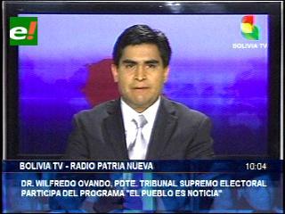 Presidente del TSE: «Ciudadanos decidirán con su voto a las autoridades del Poder Judicial»