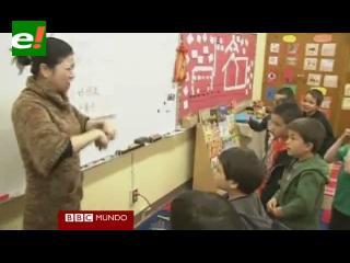 El chino, idioma de moda en colegios de EEUU