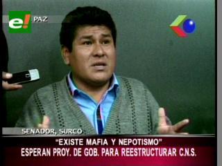 Senador Surco: «Existe mafia y nepotismo en la Caja Nacional de Salud»