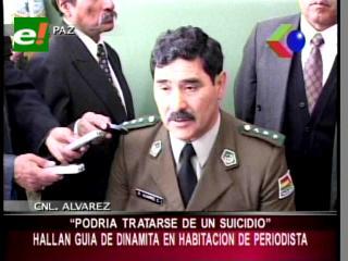 Policía encuentra dinamita en la casa de Niño de Guzmán