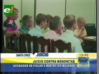 Santa Cruz: Comienza juicio oral contra menonitas acusados de violar a más de 100 mujeres