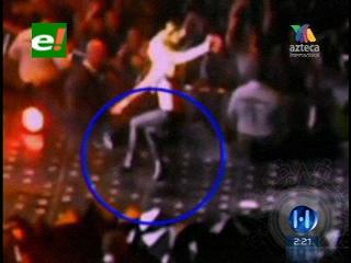 Lady Gaga sufre una caída en su concierto en Atlanta