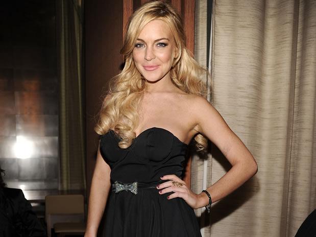Lindsay Lohan reaparece en televisión