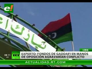 EEUU quiere usar activos congelados de Gaddafi para apoyar a la oposición de Libia