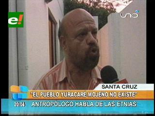 """Rubén Poma: """"No existe el Yuracaré – Mojeño, son dos pueblos distintos"""""""