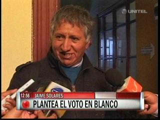 """Jaime Solares plantea el """"voto castigo"""" en las próximas elecciones"""