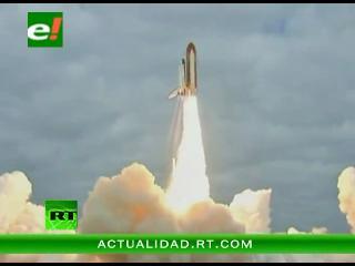 El último lanzamiento del transbordador espacial Endeavour