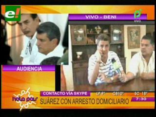 Ernesto Suárez: «Me están procesando por darle luz al municipio de San Borja»