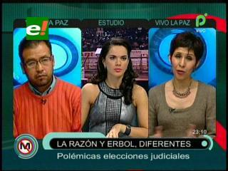 ERBOL y La Razón con visiones diferentes sobre las elecciones judiciales