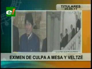UIF exime de culpa a Carlos Mesa y a Eduardo Rodríguez Veltzé por caso de los Gastos Reservados.