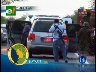 Enfrentamientos entre narcotraficantes deja 28 muertos en carretera mexicana