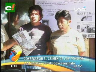 Santa Cruz: Felcc detiene a dos asesinos de taxistas