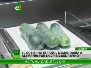España demandaría a Alemania por la «crisis del pepino»