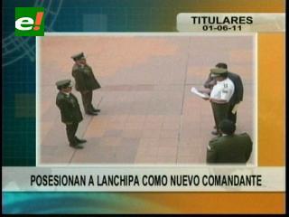 Posesionaron a José Lanchipa como nuevo Comandante de la Policía en Santa Cruz