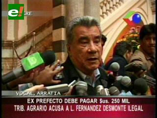 Leopoldo Fernández deberá pagar 250 mil dólares, Tribunal Agrario lo acusa de desmonte ilegal