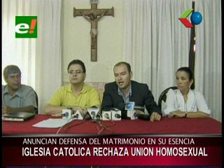 Iglesia Católica rechaza proyecto ley sobre uniones homosexuales