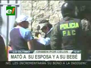 Horrendo crimen en La Paz: Sujeto asesina a su familia