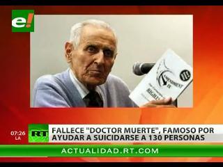 «Doctor Muerte» fallece a los 83 años en EEUU