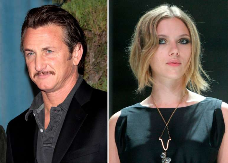 Scarlett Johansson y Sean Penn rompen