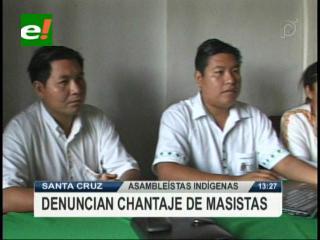Bancada indígena declina su postulación a la Presidencia de la Asamblea Departamental, acusan al MAS de chantaje