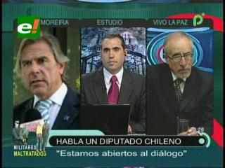 Diputado chileno: «Si el gobierno boliviano sigue con su actitud de amenaza, su pedido de mar esperará 100 años más»