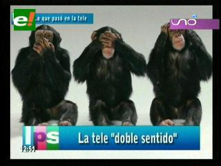 "La tele ""doble sentido"""