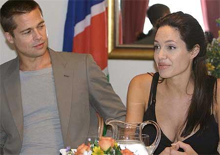 Brad Pitt y Angelina Jolie, los más solidarios