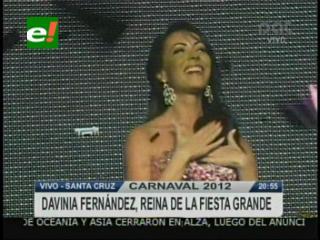 Creidazos elige a Davinia Fernández como la Reina del Carnaval 2012
