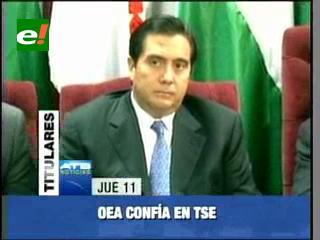 OEA confía en el TSE, pide respeto al voto secreto en las elecciones judiciales