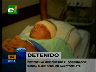 Felcc detiene a sospechoso de haber disparado a Rubén Costas