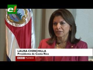 """Chinchilla explica por qué Costa Rica """"nunca tendrá ejército"""""""