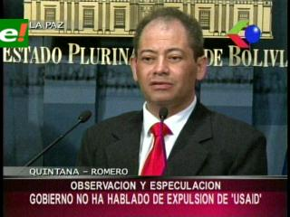"""Carlos Romero: """"En ningún momento se habló sobre la expulsión de USAID"""""""
