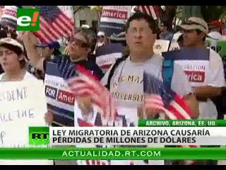 Ley de Arizona: Éxodo de emigrantes