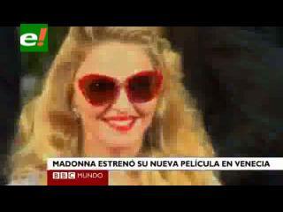Ovaciones y críticas a la directora Madonna