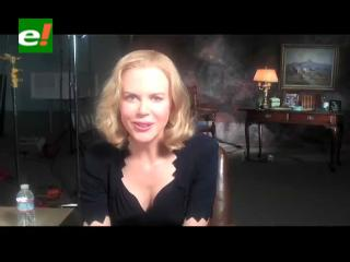 """Nicole Kidman sube un """"tímido"""" video en su página web"""