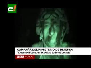 «Feliz Navidad a toda la guerrilla»