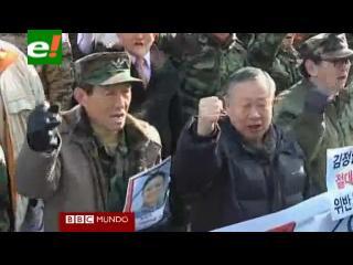 Corea del Sur, entre condolencias, rechazos y temores